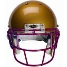 Maroon Eyeglass Oral Protection (EGOP) Football Helmet Face Guard from Schutt
