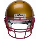 Maroon Reinforced Oral Protection (ROPO) Full Cage Football Helmet Face Guard from Schutt