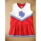 Dayton Flyers Cheerdreamer Young Girls Cheerleader Uniform by