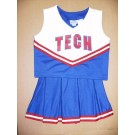 Louisiana Tech Bulldogs Cheerdreamer Young Girls Cheerleader Uniform by