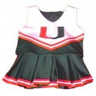Miami Hurricanes Cheerdreamer Young Girls Cheerleader Uniform by
