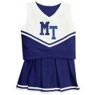 Middle Tennessee State Blue Raiders Cheerdreamer Young Girls Cheerleader Uniform by