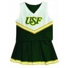 South Florida Bulls Cheerdreamer Young Girls Cheerleader Uniform by