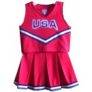 South Alabama Jaguars Cheerdreamer Young Girls Cheerleader Uniform