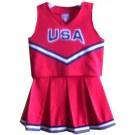 South Alabama Jaguars Cheerdreamer Young Girls Cheerleader Uniform by