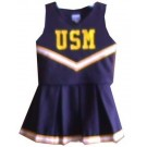 Southern Mississippi Golden Eagles Cheerdreamer Young Girls Cheerleader Uniform by