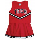 Texas Tech Red Raiders Cheerdreamer Young Girls Cheerleader Uniform (Red)