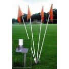 Step Down Soccer Field Corner Flag - Set of 4