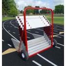 2 Wheel Hurdle Cart