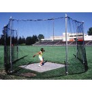 Track High School Discus Cage - Removable