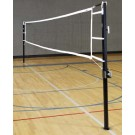 "Game Standards And Net for 3"" Aluminum Power Volleyball System - (One Standard with Winch, One Standard without Winch, and Net)"