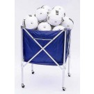 Folding Volleyball Cart - Holds up 15 Volleyballs