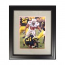 "Autographed Vernon Gholston 8"" x 10"" Framed Photograph (COA: Sports Images)"
