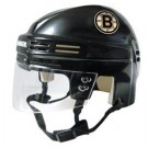 Boston Bruins NHL Authentic Mini Hockey Helmet from Bauer (Black)