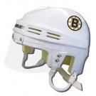 Boston Bruins Official NHL Mini Player Helmet (White)