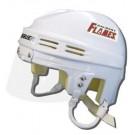 Calgary Flames Official NHL Mini Player Helmet (White)