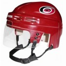 Carolina Hurricanes NHL Authentic Mini Hockey Helmet from Bauer (Red)