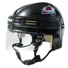 Colorado Avalanche NHL Authentic Mini Hockey Helmet from Bauer (Black)