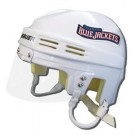 Columbus Blue Jackets Official NHL Mini Player Helmet (White)