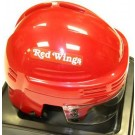 Detroit Red Wings NHL Authentic Mini Hockey Helmet from Bauer (Red)