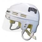 Edmonton Oilers Official NHL Mini Player Helmet (White) by