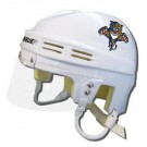 Florida Panthers Official NHL Mini Player Helmet (White)