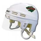 Minnesota Wild NHL Authentic Mini Hockey Helmet from Bauer (White)