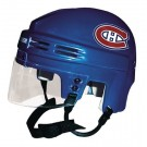 Montreal Canadiens Official NHL Mini Player Helmet (Blue)