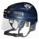 Nashville Predators NHL Authentic Mini Hockey Helmet from Bauer (Blue)