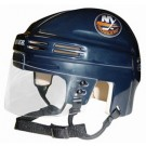New York Islanders NHL Authentic Mini Hockey Helmet from Bauer (Blue)
