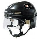 Philadelphia Flyers NHL Authentic Mini Hockey Helmet from Bauer (Black)
