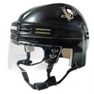 Pittsburgh Penguins NHL Authentic Mini Hockey Helmet from Bauer (Black)