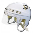 Pittsburgh Penguins Official NHL Mini Player Helmet (White)