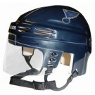 St. Louis Blues NHL Authentic Mini Hockey Helmet from Bauer (Blue)