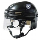 Tampa Bay Lightning NHL Authentic Mini Hockey Helmet from Bauer (Black)