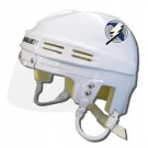 Tampa Bay Lightning Official NHL Mini Player Helmet (White) by