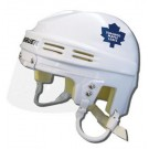 Toronto Maple Leafs Official NHL Mini Player Helmet (White)