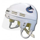 Vancouver Canucks Official NHL Mini Player Helmet (White)