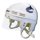 Vancouver Canucks Official NHL Mini Player Helmet (White)