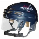 Washington Capitals NHL Authentic Mini Hockey Helmet from Bauer (Blue)