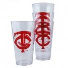Minnesota Twins Boelter Plastic Pint Cups (Set of 4)