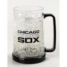Chicago White Sox 16 oz Plastic Crystal Freezer Mugs - Set of 4