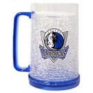 Dallas Mavericks 16 oz Plastic Crystal Freezer Mugs - Set of 4