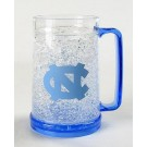 North Carolina Tar Heels 16 oz Plastic Crystal Freezer Mugs - Set of 4