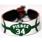 Paul Pierce Boston Celtics Leather Wrist Band / Bracelet