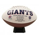New York Giants Signature Series Full Size Football