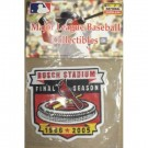 St. Louis Cardinals Busch Stadium Final Season MLB Logo Patch