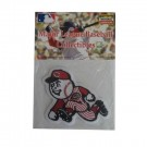 "Cincinnati Reds "" Run Man"" MLB Logo Patch"