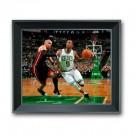 "Rajon Rondo Boston Celtics 13"" x 11"" 3D Treehugger Framed Photograph"