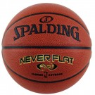 NEVERFLAT® Composite Leather Basketball (Size 7) from Spalding®
